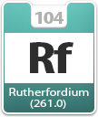 Rutherfordium Atomic Number