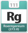 Roentgenium Atomic Number