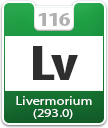 Livermorium Atomic Number