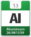 Aluminium Atomic Number