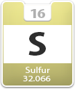 Sulfur Atomic Number