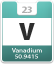 Vanadium Atomic Number
