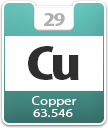 Copper Atomic Number