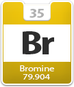 Bromine Atomic Number