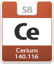 Cerium Atomic Number