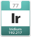 Iridium Atomic Number