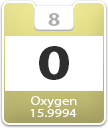 Oxygen Atomic Number