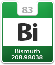 Bismuth Atomic Number