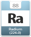 Radium Atomic Number