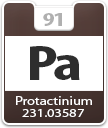 Protactinium Atomic Number
