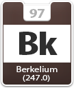 Berkelium Atomic Number