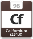 Californium Atomic Number